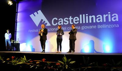 Festival closing ceremony: Giancarlo Zappoli and Gino Buscaglia, artistic director and president