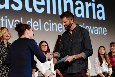 Natascia Martinetti, Steven Oritt director (My name is Sara) - Jury Fuori le Mura Award