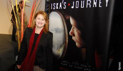 Agnes Csere - producer and actress of <i>Iska's Journey</i>