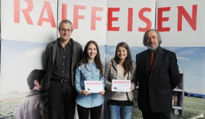 Winners of the Raiffeisen Prize for Juries members