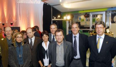 Castellinaria's President and local authorities