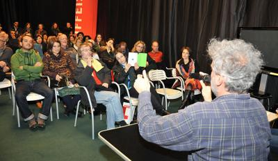 Daniele Gaglianone, <i>La mia classe</i>, meets the audience