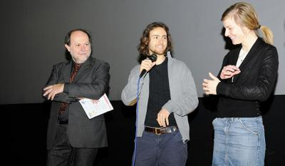 Giancarlo Zappoli, Anna van Haebler and Jeshua Dreyfus <i>Halb so wild</i> - Utopia Award