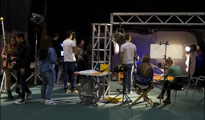 Workshop - the movie set